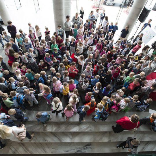 Children's Day in the opera