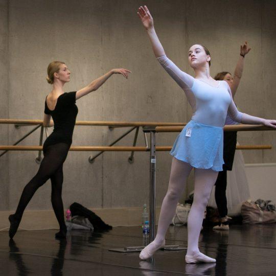 Audycje do zespołu baletowego