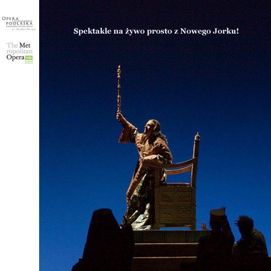 The Metropolitan Opera: Live in HD (SEZON 2021/2022)